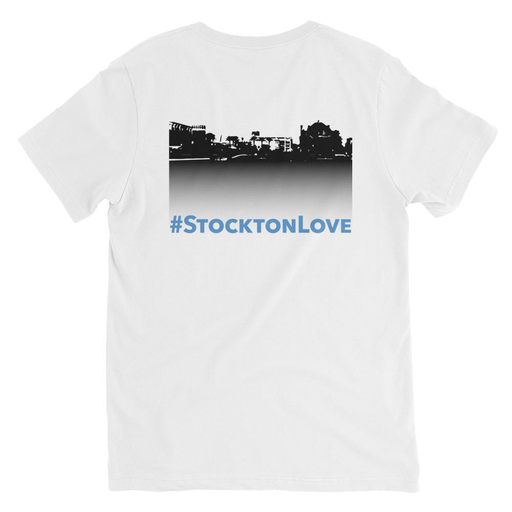 Image of Songs of Zion - V-Neck #StocktonLove Tee