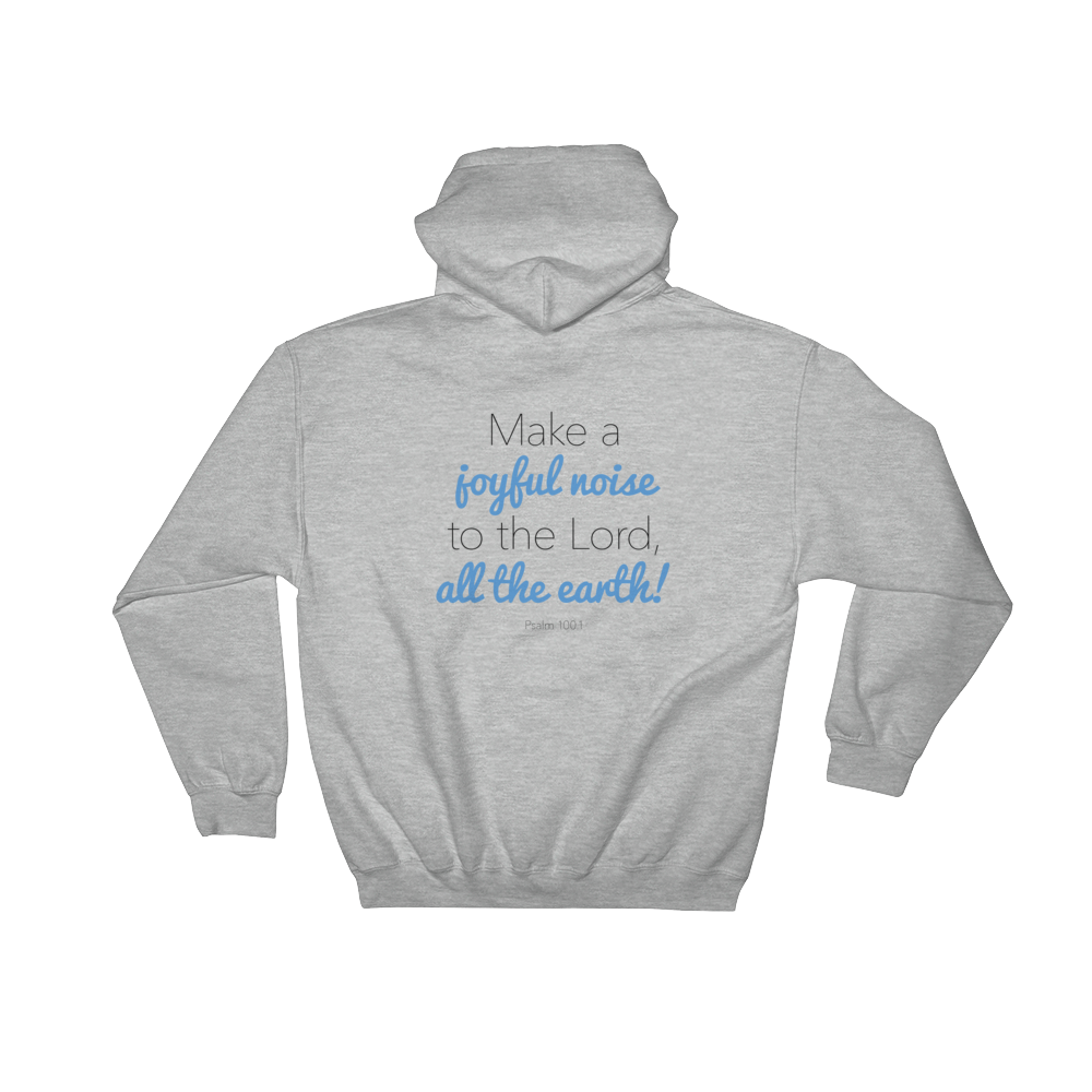 Image of Songs of Zion - Psalm 100.1 Hoodie
