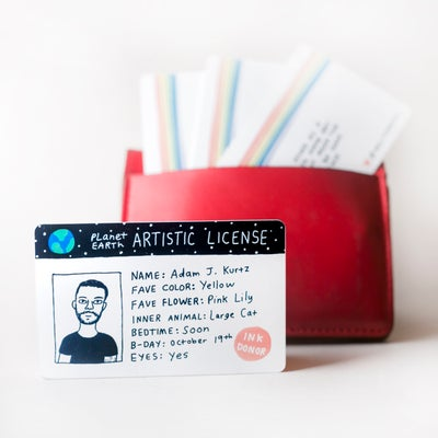 Image of Artistic license - August pre-order