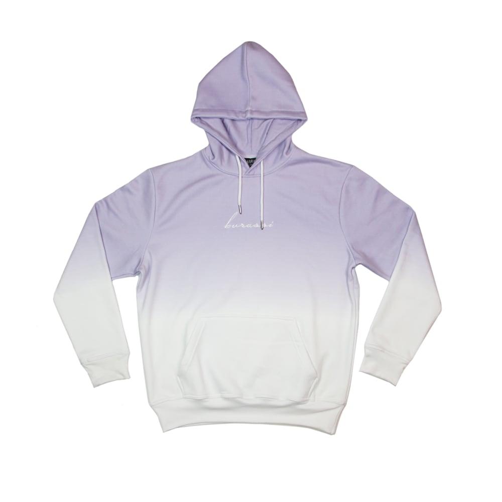 Image of Lavender Dip Dye Hoodie