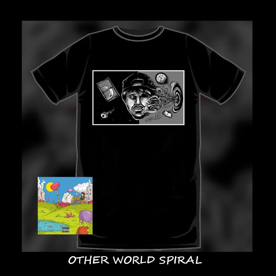 Image of T Shirt Cd Bundle