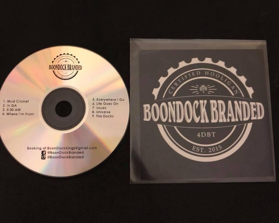 Image of BoonDock Branded Certified Hooligans CD