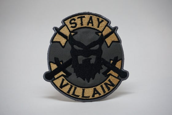 "Image of "" STAY VILLAIN "" Collectible Patch"