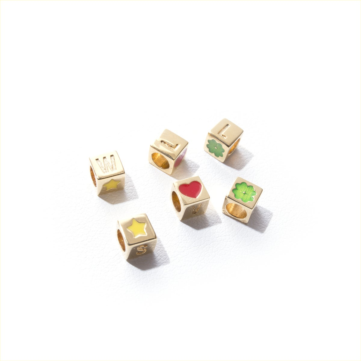 Image of WISH+LOVE+LUCK<br>CUBES