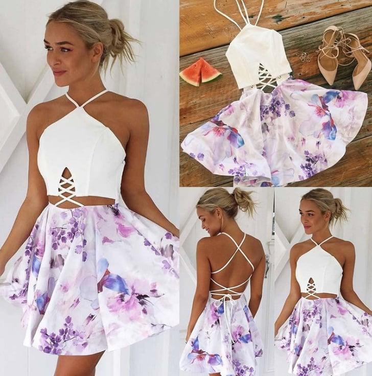 Image of Fashion to wear the back of a bandage dress