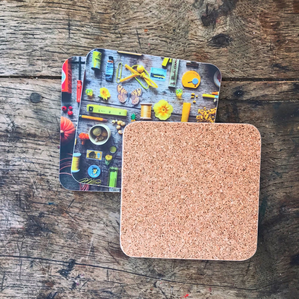 Image of 5ftinf Coasters ( Pack of 6 )