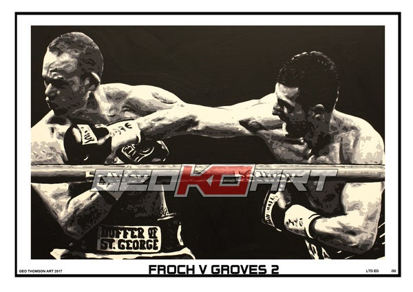 Image of FROCH V GROVES