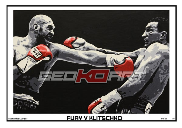 Image of FURY V KLITSCHKO