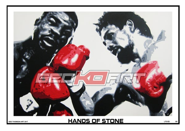 Image of HANDS OF STONE