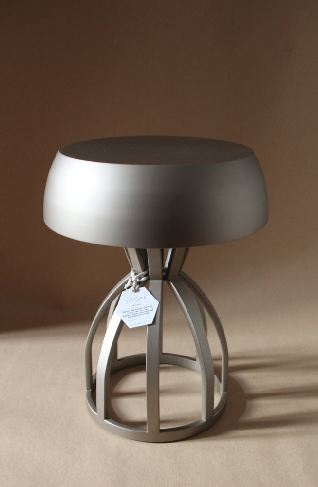 Image of NUAGE - Tabouret /table de chevet / coloris : Bronze