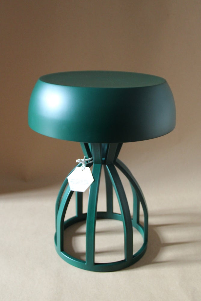 Image of NUAGE - Tabouret/table de chevet / coloris Forest