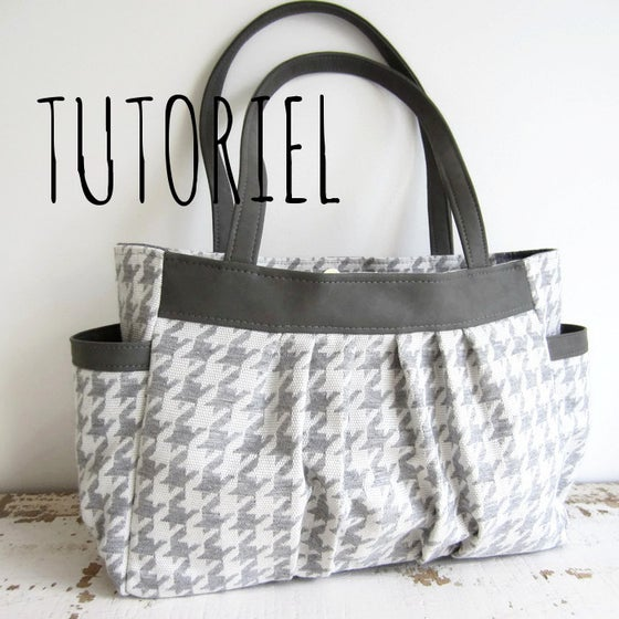 Image of Tutoriel du sac Jules à plis