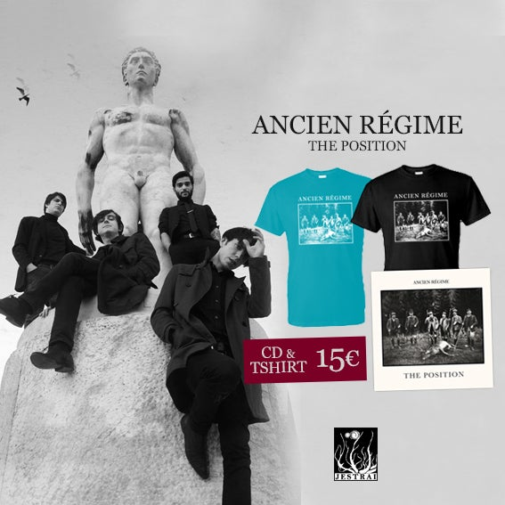 Image of Promo: Ancien regime - The position Cd + Tshirt