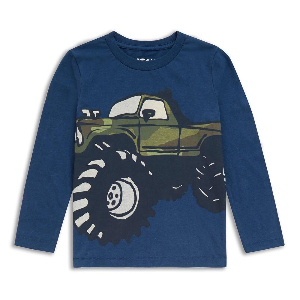 Image of Boys muscle truck top