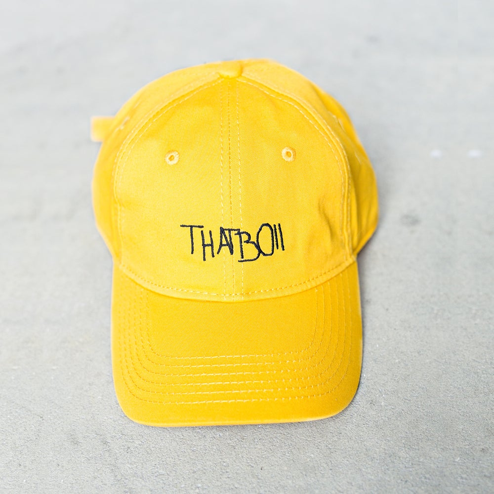 Image of THATBOII CAP - GOLD