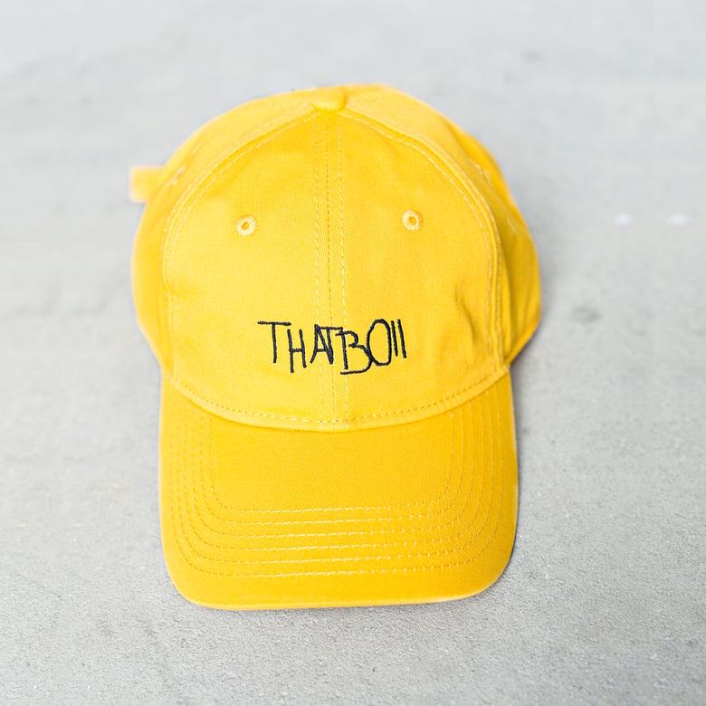 Image of THATBOII CAP - GOLD