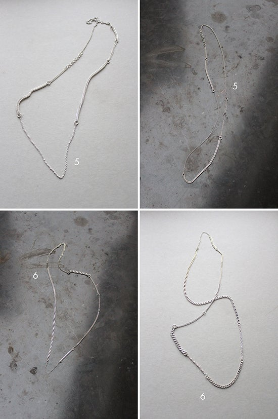 Image of SILVER RECYCLING NECKLACES
