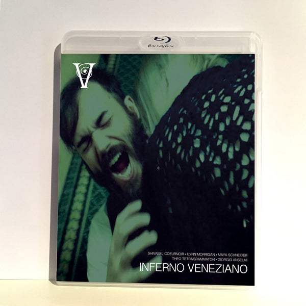Image of INFERNO VENEZIANO - BLU-RAY-R + DVD (HD COLLECTION #11) Signed and Stamped, Limited 50, DESIGN B