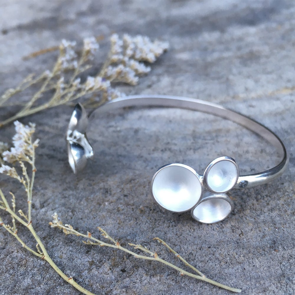 Image of Pearl Acacia Cluster Cuff