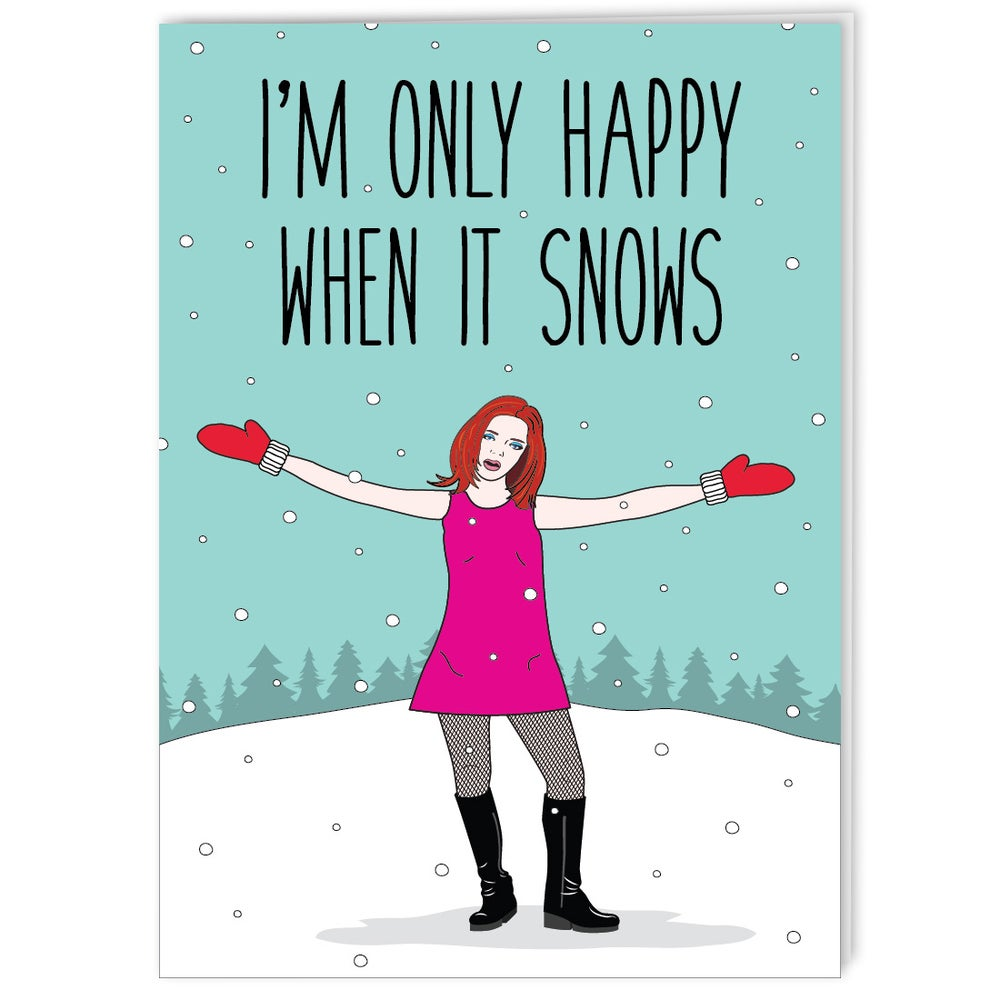 Image of Shirley Manson - 90s Grrrl Holiday Card