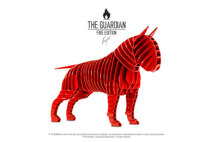 "Image of THE GUARDIAN ""FIRE EDITION"" 10 Units Only."