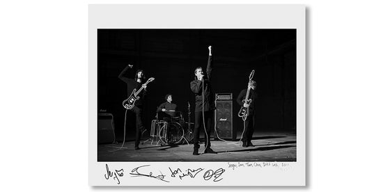 Image of SERGIO, IAN, TOM & CHRIS, DAF SET, 2011 *SIGNED*