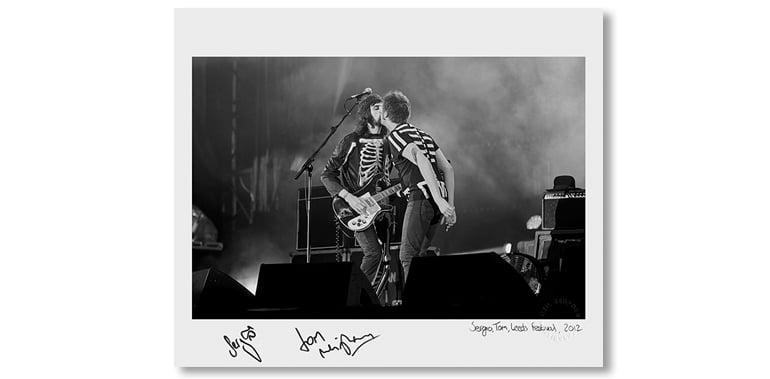 Image of SERGIO & TOM, LEEDS FESTIVAL, 2012 *SIGNED*