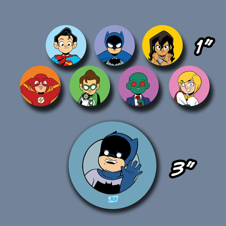 "Image of JL8 1"" + 3"" Button Combo"