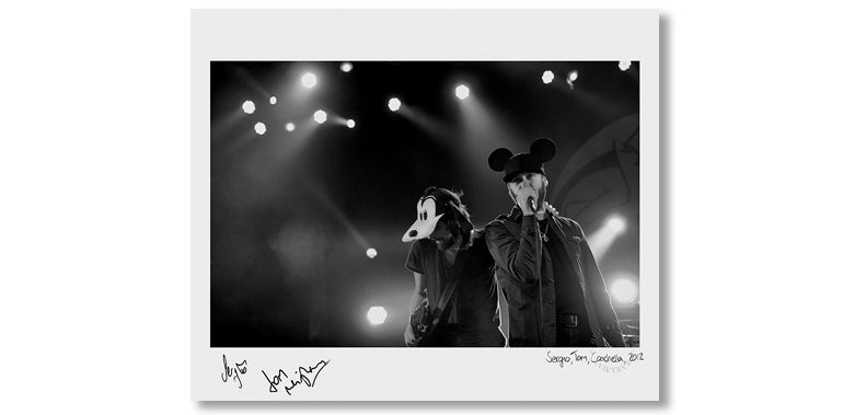 SERGIO & TOM, COACHELLA, 2012 *SIGNED*