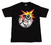 Image of AniAdam Bomb Tee Black