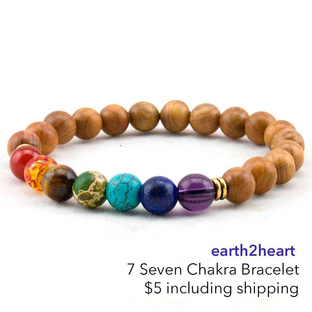 Image of 7 Seven Chakra Balancing Bracelet