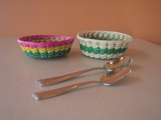 Image of Colorful baskets