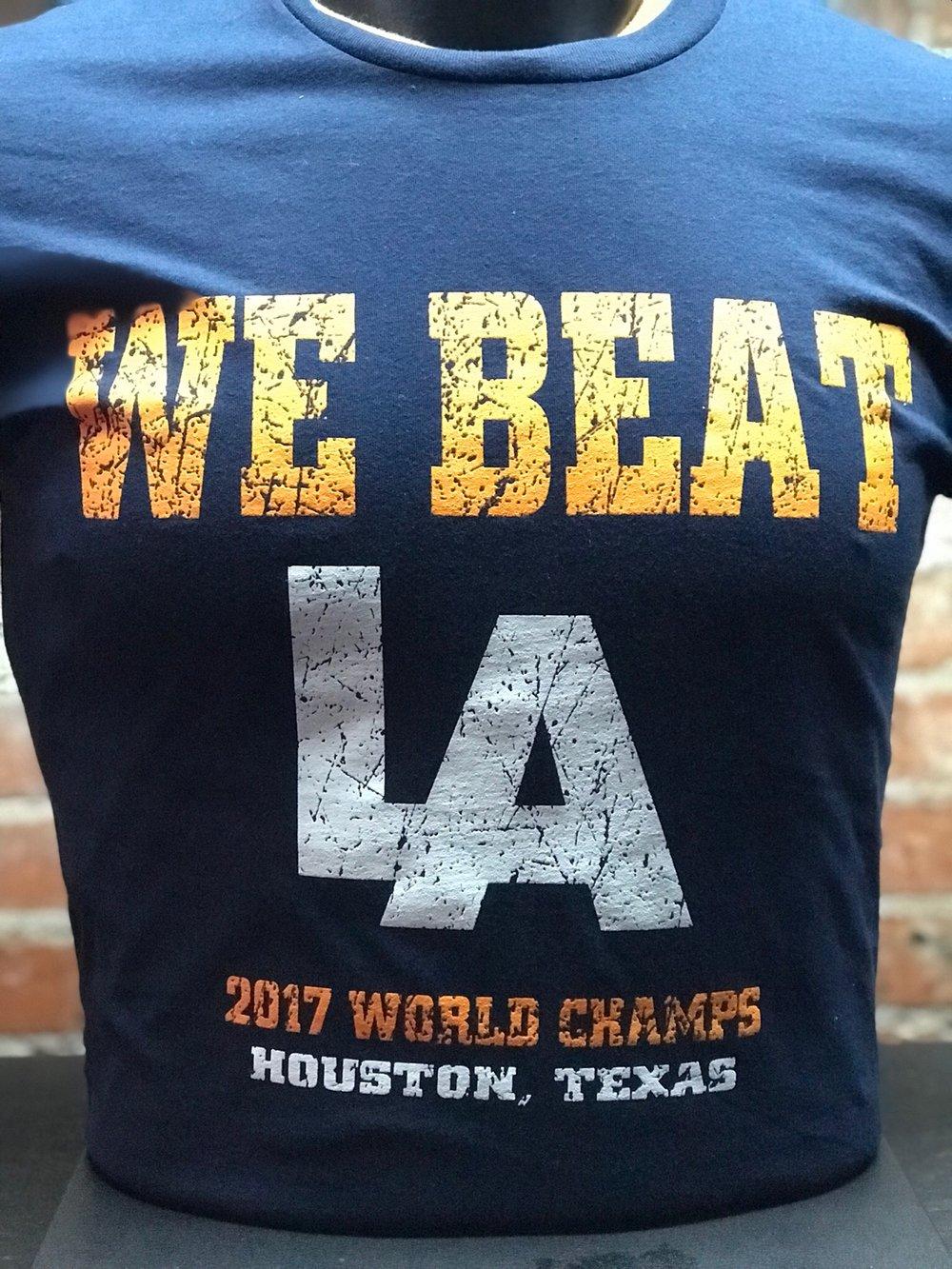 Distressed WE BEAT LA Championship Edition