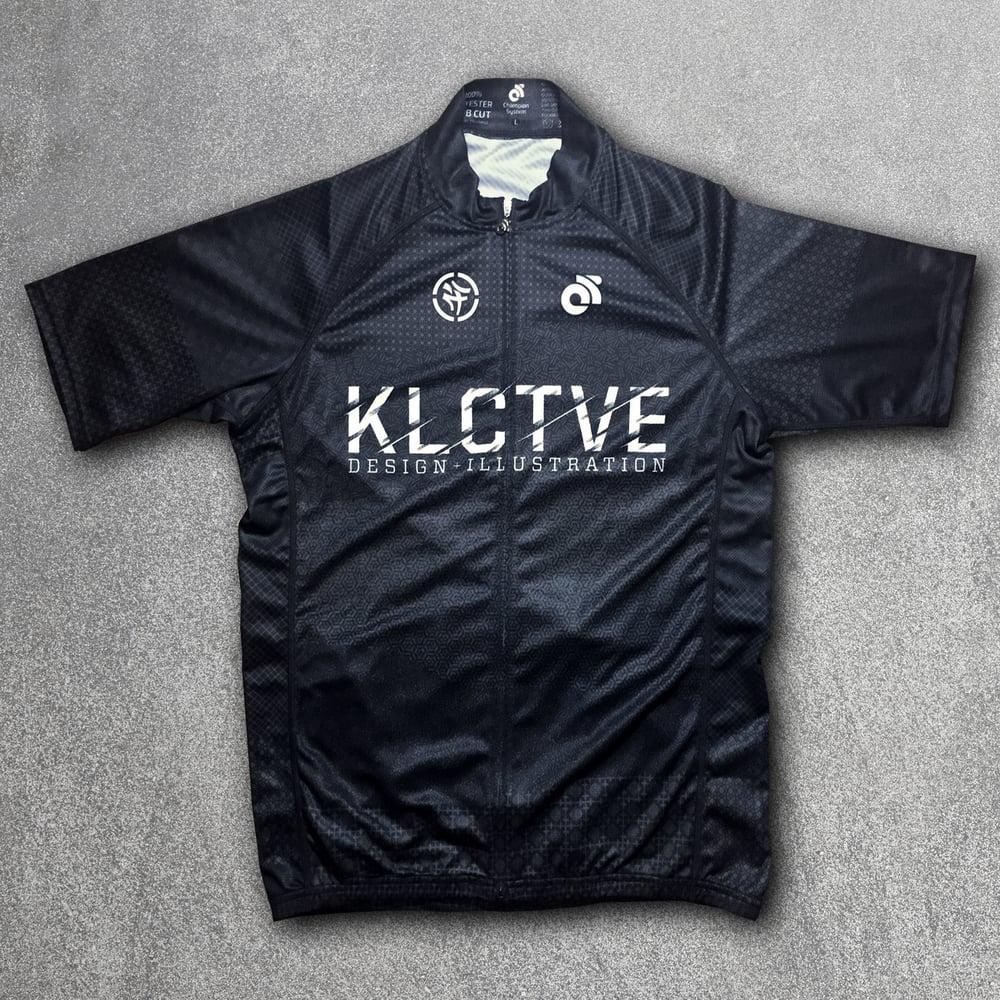Image of KLCTVE (over)DRAFT Black Cycling Jersey