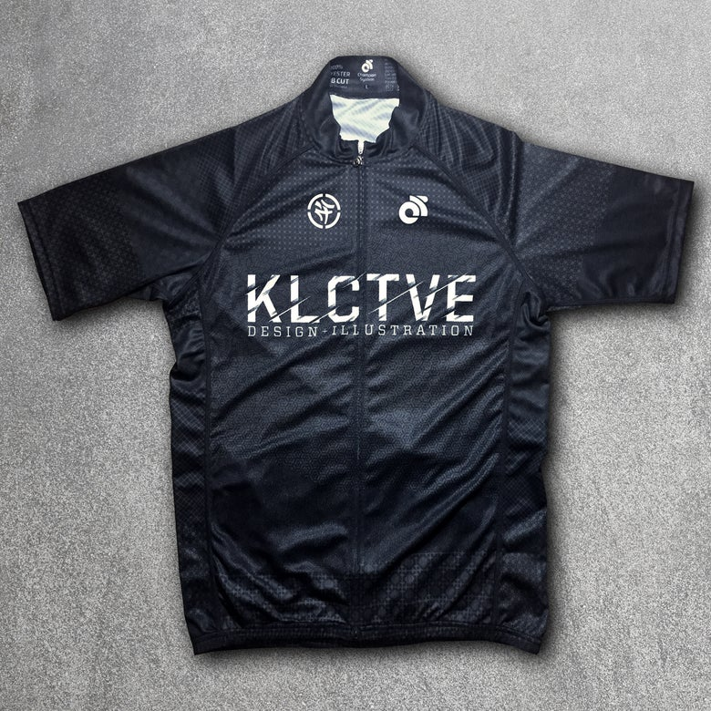 Image of KLCTVE (over)DRAFT Black Cycling Jersey