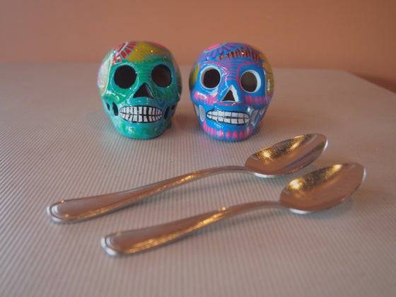 Image of Mini ceramic skulls