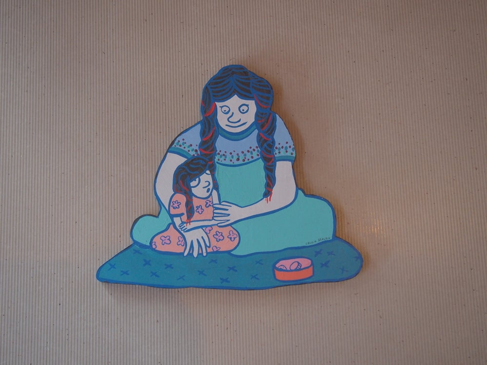 Image of Mom and girl