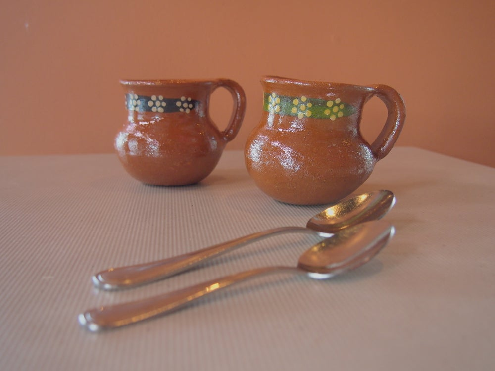 Image of Clay mugs
