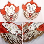 Image of Pennywise the Clown - Wood Print