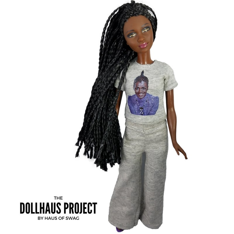Image of Cicely Braided Collector Doll