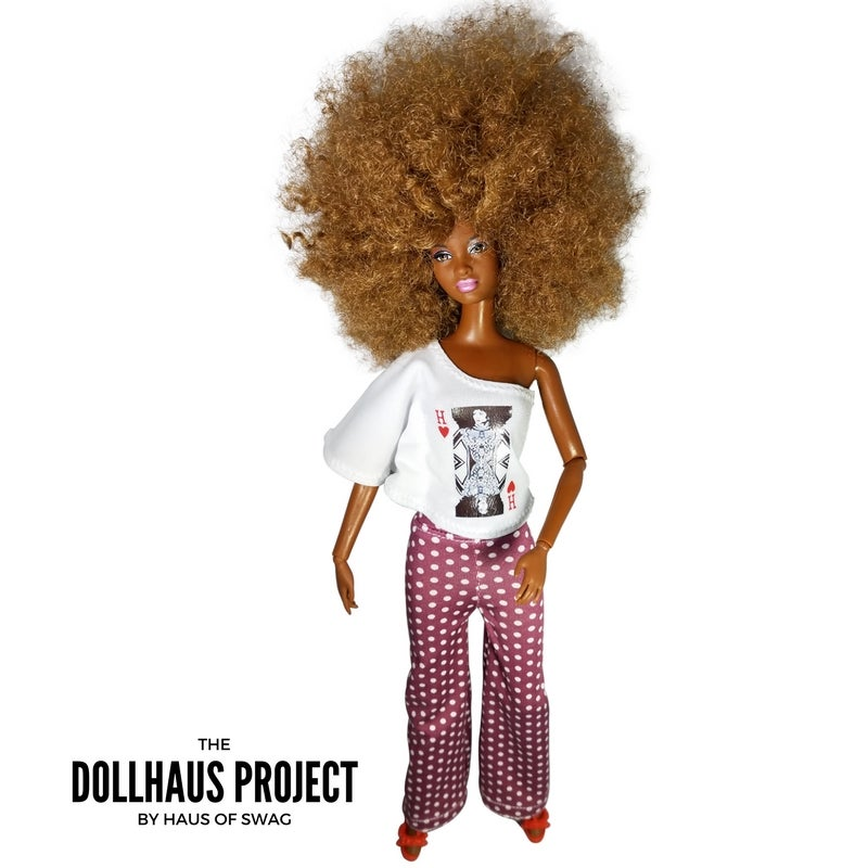 Image of Kween of Hearts (Polka Dot Pant) Collector Doll