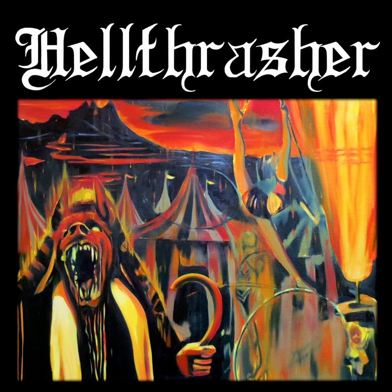 "Image of Hellthrasher 12"" vinyl"