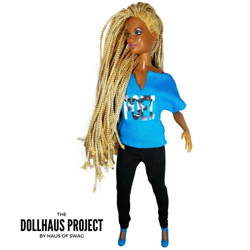 Image of POET Collector Doll