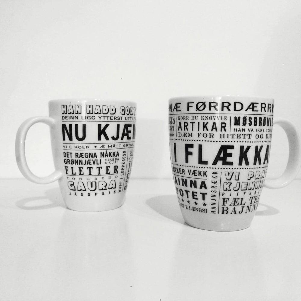 "Krus ""Æ lika dæ i flækkan"" (Bodø/Salten)"