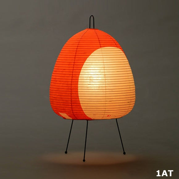 Image of Isamu Noguchi Light Sculpture AKARI Standing lamp SERIES