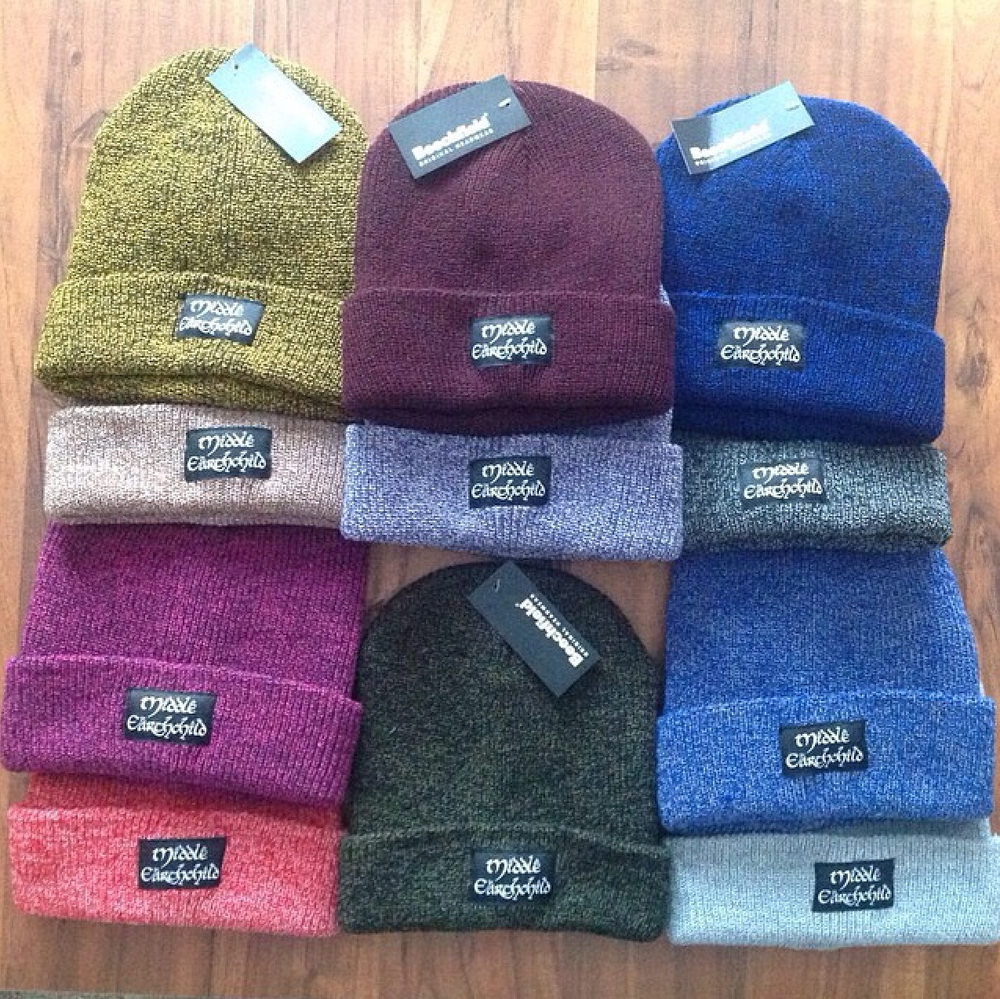 Image of Middle Earthchild Beanies (3 Colours Available) (CLEARANCE SALE)