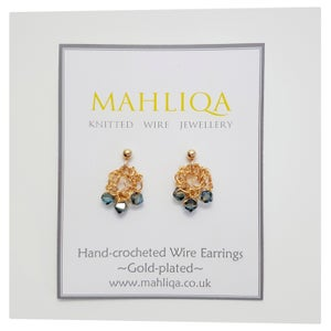 Image of D E W D R O P  Earrings - GOLD