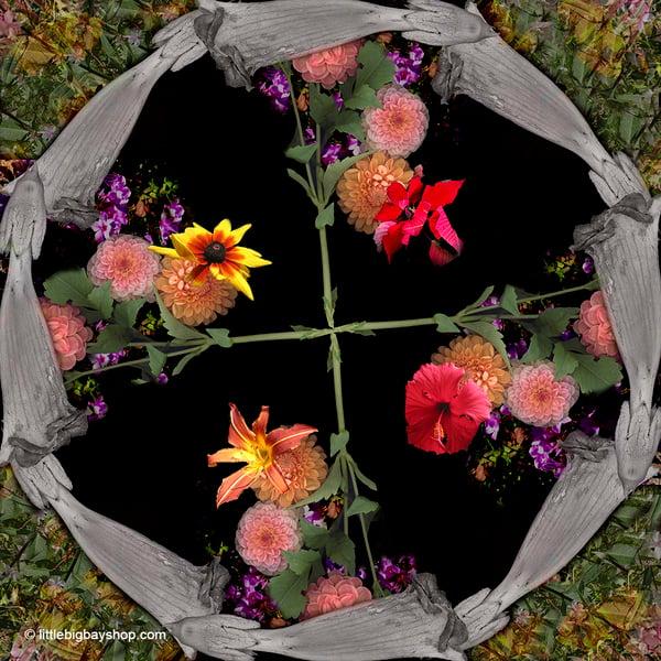 Image of Lady's Garden Mandala