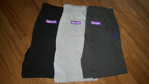Image of Siplean Embroidered Sweat Shorts
