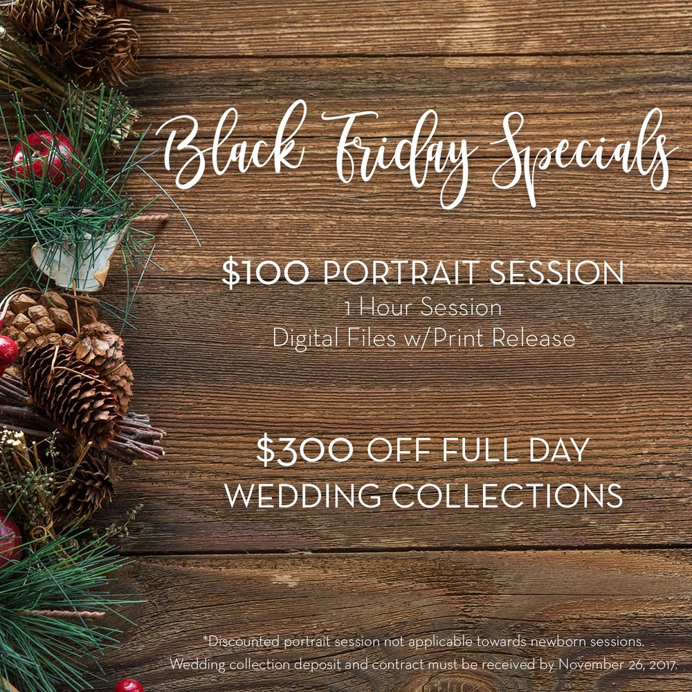 Image of Black Friday Portrait Session